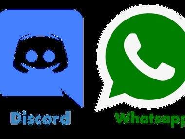 Discord to Whatsapp Forwarder