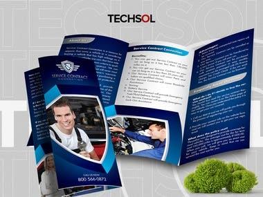 Service Contract Tri-Fold Brochure