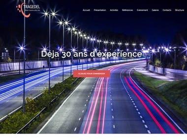 Tragedel website