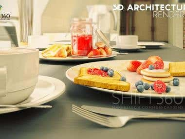 The Attic - 3D Architectural Rendering (Part 2)