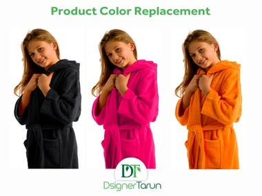 Product Color Replacement