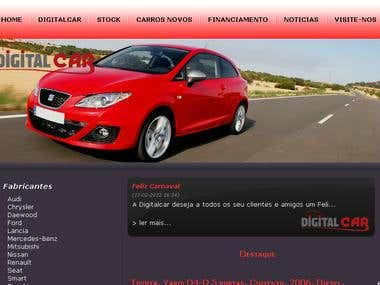 Website - DigitalCar