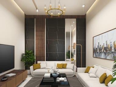 Interior design for Apartment - Saudi Arabia