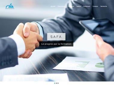 Safa Assistance website