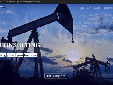 Global Consulting website