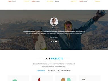 Insurance Website and development
