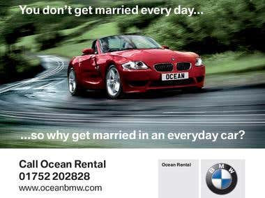BMW Banners, Posters and Adverts