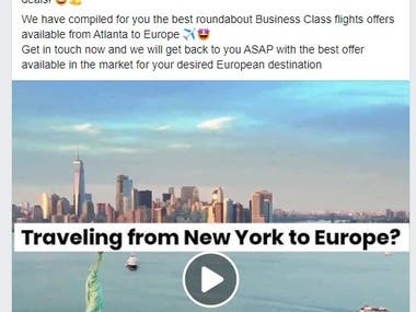 Travel ads