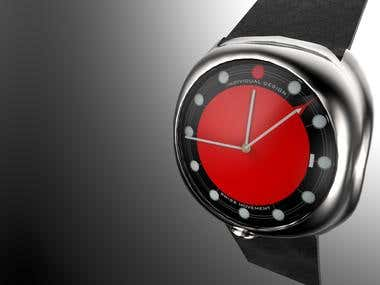 Funky Watch Photo-realistic Renderings for Display