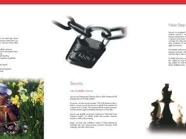 6pp A4 Brochure