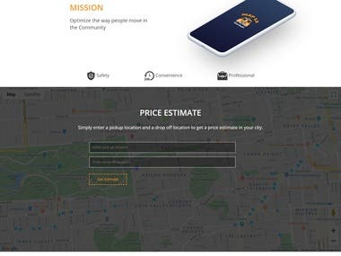 TAXI WEBSITE USING PHP