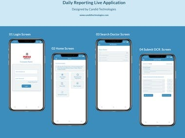 Daily Reporting - LIVE TRACKING APP with GPS