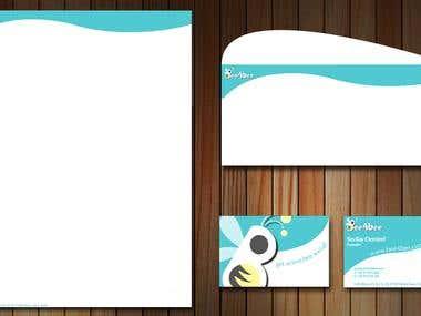 Letterhead Banner & Business Card