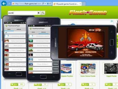 Android Flash Game Player