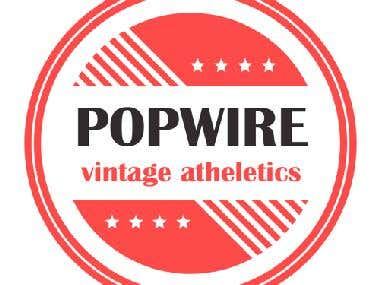Logo for POPWIRE company