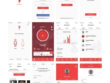 Dating/Fitness app