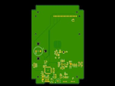 ATMEGA32u4 & nRF24 Chip level design