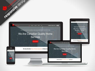 Website for home services business