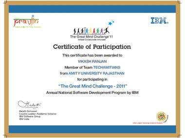 Annual National Software Development Program By IBM