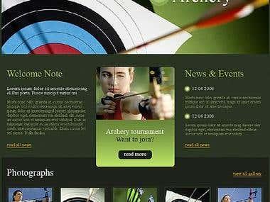 Archery Template