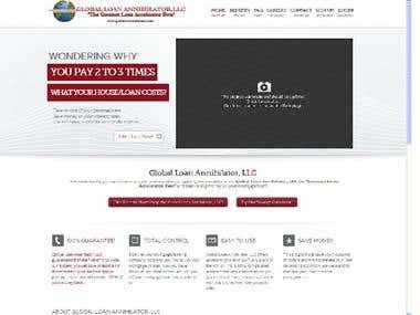 Global Loan Website