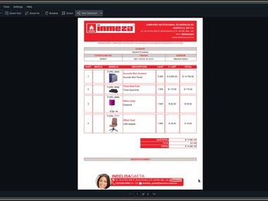 Odoo Sale Order PDF customization