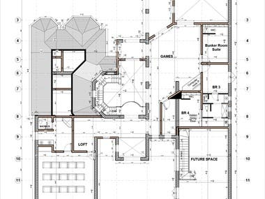 AutoCAD Floor plan Design and Drafting