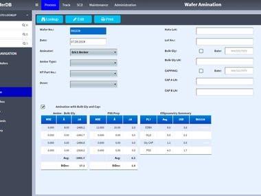 DB management system ( Php/Mysql/Javascript/HTML/CSS)