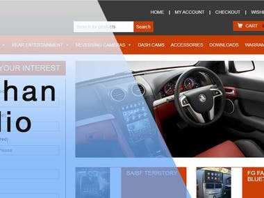 Kayhan Audio Ecommerce app and website
