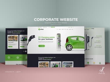 Corporate Website Product Base