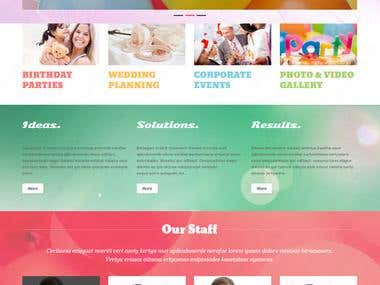 Event Organizing Website