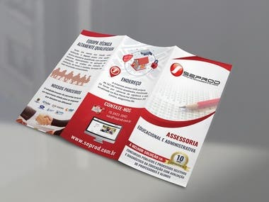 Business Trifold Panflet and A4 Flyer