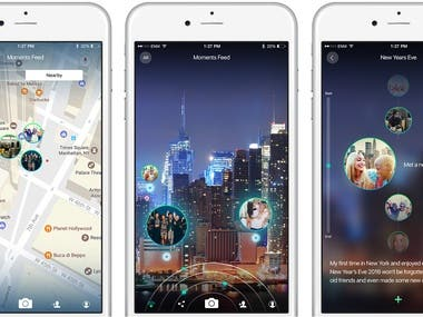 AR Location Service App