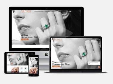 www.vintagediamondring.com-Diamond Ring Store | NewYork, USA