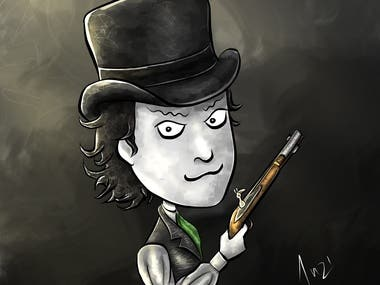 Toon Goth Portraits/Caricatures (Original style)