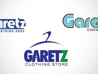 Garetz Clothing Store Logo