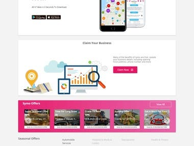 Symo - A Local UAE Directory.