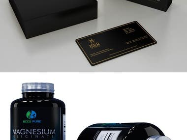 3D design packaging
