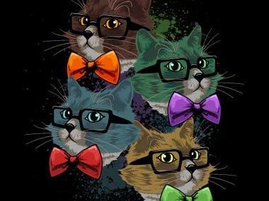 Nerd Cats