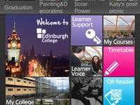 Edinburgh College iPhone app