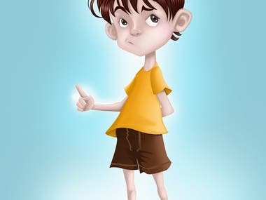 Young Boy Character