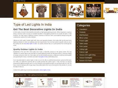 Light Manufacturing Company Website