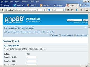 Custom modification of phpBB3