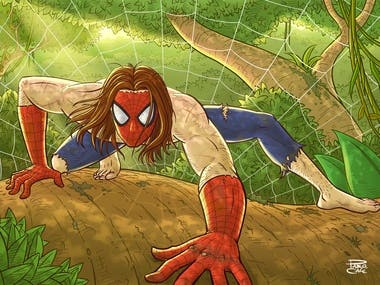 Wild Spiderman
