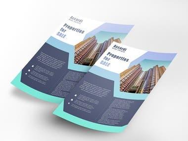 Flyers / leaflets designs