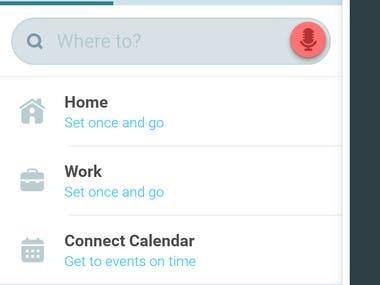 Waze app modification