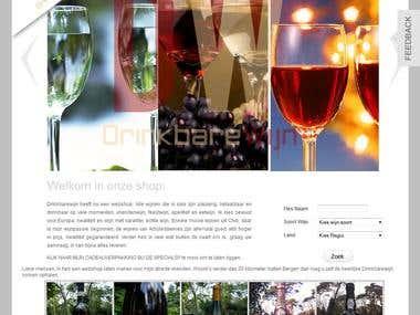 Wine Shop | Ecommerece