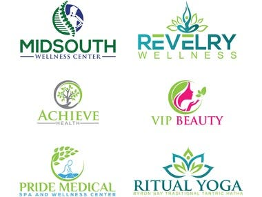 I will do health medical dental yoga spa logo 24 hours