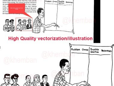 Illustration and Vectorization on Illustrator