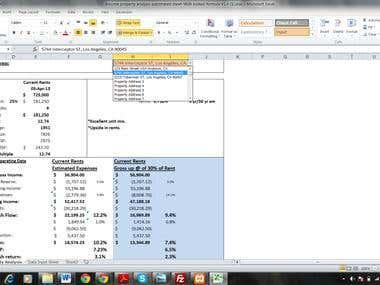 Property Analysis Model
